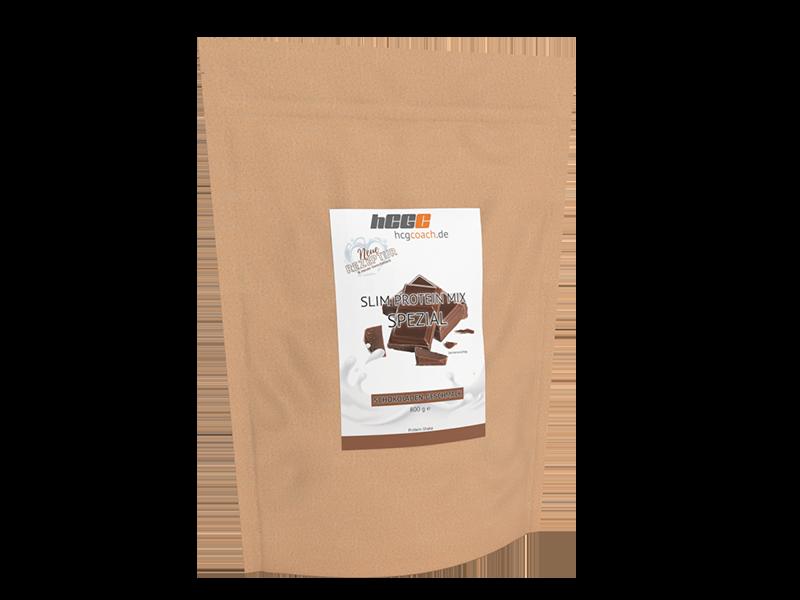 Slim Proteinmix SPEZIAL für 30 Tage hCG-Diät Schokolade (800 g)