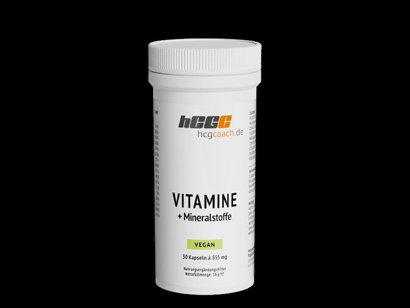 Vitamine + Mineralstoffe Kapseln (30 Stück á 555 mg)