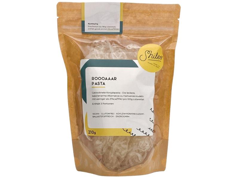 Konjaknudeln getrocknet - ROOOAAAR Pasta  - Shileo