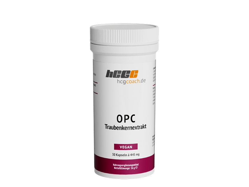 OPC-Traubenkernextrakt Kapseln (30 Stück á 445 mg)