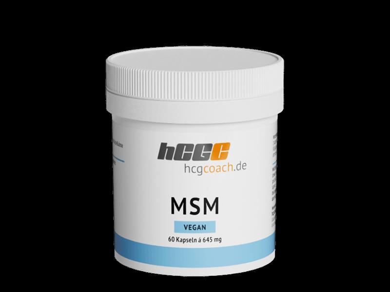 MSM Kapseln (60 Stück á 645 mg)