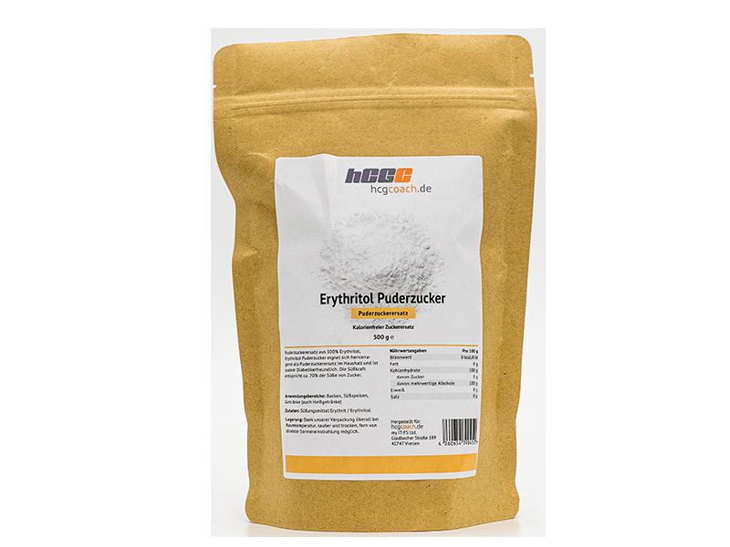 Erythritol Puderzucker - kalorienfreier Puderzuckerersatz (500 g)