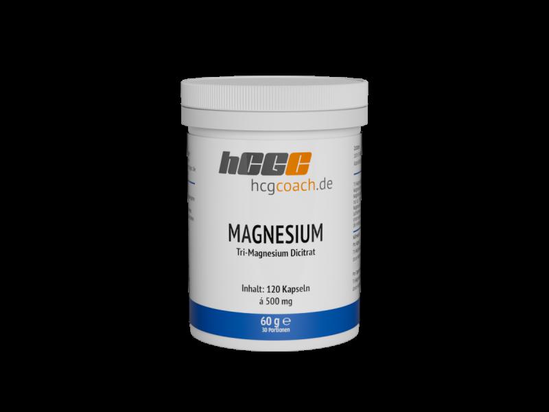 Magnesium - 120 Kapseln á 500 mg