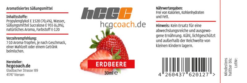 Aromatropfen / FlavDrops 4er Pack - zum süßen und aromatisieren (4 x 30 ml)