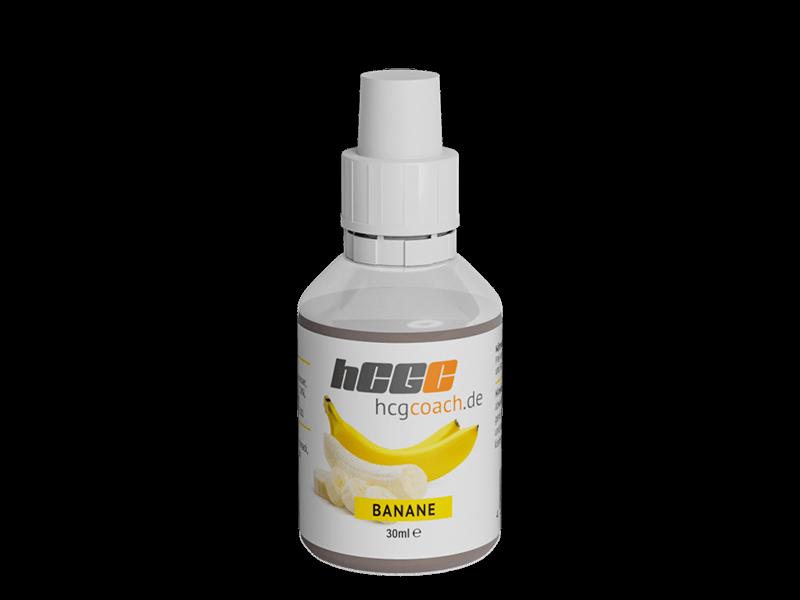 30 Tage Stoffwechselkur Set mit Molkenprotein WPC 80   Aromatropfen Banane