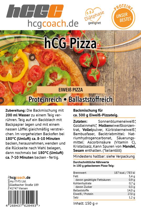 hCG Pizzateig (150 g)