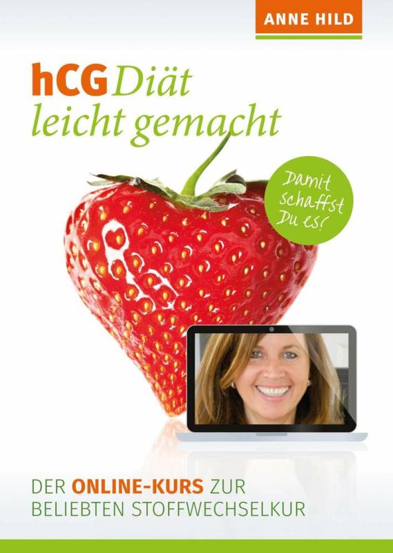 hCG Diät leicht gemacht - Der Online-Kurs zur beliebten Stoffwechselkur