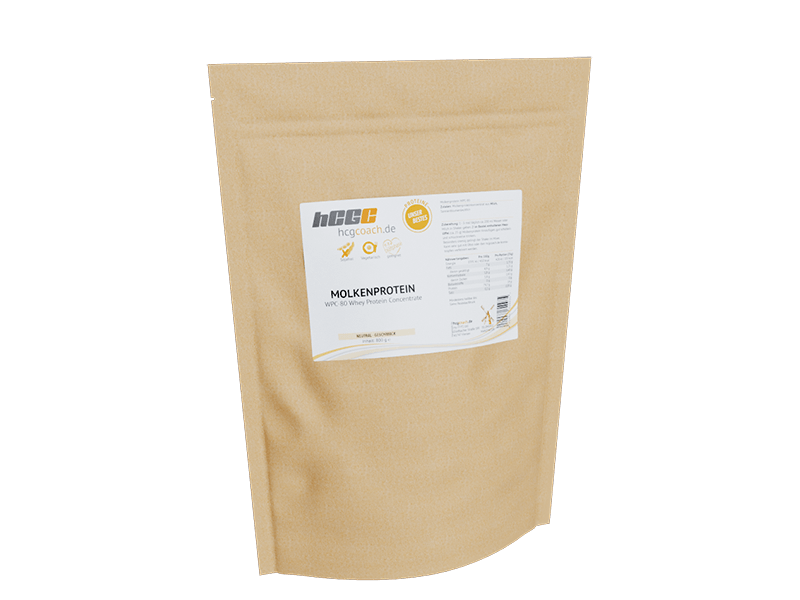 Molkenprotein WPC 80 für 30 Tage hCG-Diät (800 g)